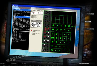 Find 815 password puzzle
